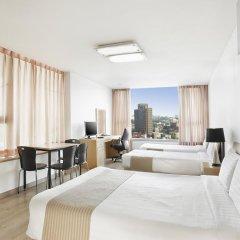 Отель Hyundai Residence Seoul 3* Стандартный семейный номер с двуспальной кроватью фото 2