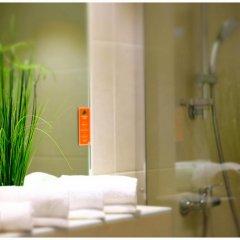 Отель Motel Plus Berlin 3* Стандартный семейный номер с различными типами кроватей фото 9
