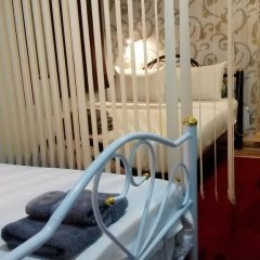 Decor Do Hostel Стандартный семейный номер с различными типами кроватей фото 7