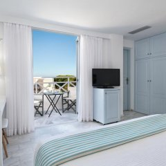 Отель Santorini Kastelli Resort 5* Стандартный номер с различными типами кроватей фото 7