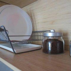 Апартаменты Берлога на Советской Студия с двуспальной кроватью фото 31