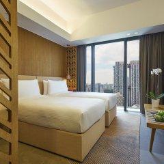Oasia Hotel Downtown Singapore 4* Улучшенный номер с различными типами кроватей фото 3