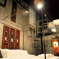Отель Inn a day 3* Стандартный семейный номер с двуспальной кроватью фото 8