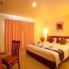 Orchid Garden Hotel 3* Улучшенный номер с двуспальной кроватью фото 13