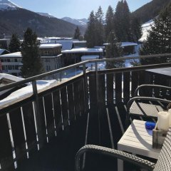 Отель Alberti 5 Швейцария, Давос - отзывы, цены и фото номеров - забронировать отель Alberti 5 онлайн приотельная территория фото 2