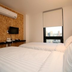 K-POP HOTEL Dongdaemun 2* Стандартный номер с 2 отдельными кроватями фото 4