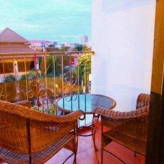 Апартаменты Chaba Garden Apartment балкон