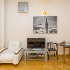 Апартаменты Four Squares Apartments on Tverskaya Апартаменты с двуспальной кроватью фото 44