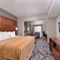 Отель Comfort Inn & Suites Frisco - Plano 2* Стандартный номер с различными типами кроватей фото 3