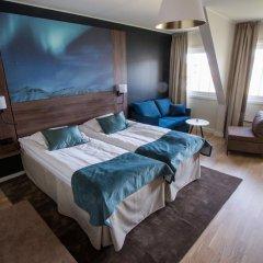 Quality Hotel Saga 3* Номер Делюкс с различными типами кроватей фото 3