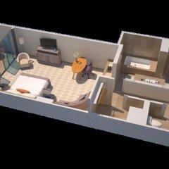 Отель The St. Regis Bal Harbour Resort 5* Номер Делюкс с различными типами кроватей фото 7