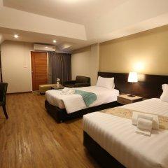 Отель Golden Jade Suvarnabhumi 3* Улучшенный номер двуспальная кровать фото 4