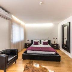 Отель Lounge Inn 3* Апартаменты разные типы кроватей фото 19