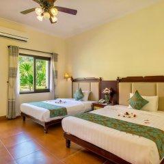 Отель Agribank Hoi An Beach Resort 3* Улучшенный номер с различными типами кроватей фото 2