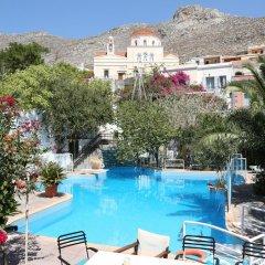 Отель Villa Melina Греция, Калимнос - отзывы, цены и фото номеров - забронировать отель Villa Melina онлайн бассейн фото 2
