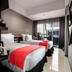 Fashion Hotel Legian 4* Номер Делюкс с различными типами кроватей фото 3