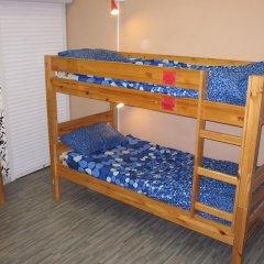 Хостел Наполеон Кровать в общем номере с двухъярусной кроватью фото 10