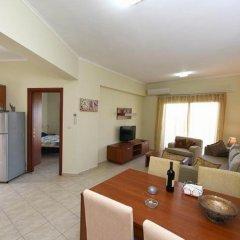 Апартаменты Nefeli Apartment Родос комната для гостей фото 5