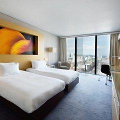 Отель Hilton Manchester Deansgate 4* Номер Делюкс