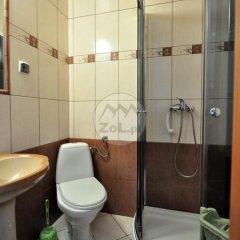 Отель Domek Centrum Nowotarska Польша, Закопане - отзывы, цены и фото номеров - забронировать отель Domek Centrum Nowotarska онлайн ванная фото 2