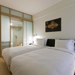 Отель Sotetsu Hotels The Splaisir Seoul Myeong-Dong 4* Улучшенный номер с различными типами кроватей фото 2