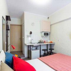 Мини отель Ваша студия Студия разные типы кроватей фото 3