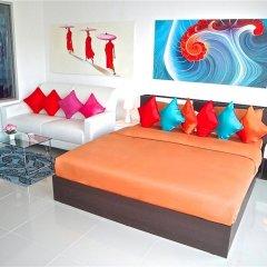 Апартаменты Chic Karon Studio Sea View комната для гостей фото 3