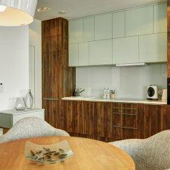 Отель Apartamenty Sky Tower Улучшенные апартаменты с различными типами кроватей фото 12