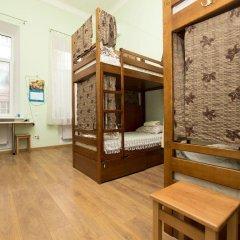 Центро Хостел Кровать в женском общем номере с двухъярусными кроватями фото 4