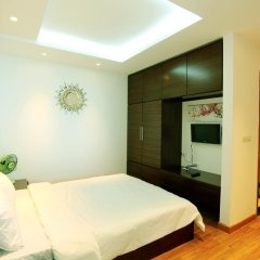 Отель Condotel Ha Long Апартаменты с различными типами кроватей фото 16