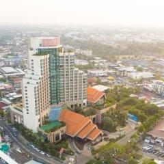 Отель Pullman Khon Kaen Raja Orchid Таиланд, Кхонкэн - отзывы, цены и фото номеров - забронировать отель Pullman Khon Kaen Raja Orchid онлайн балкон