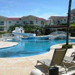 Отель Departamento en Diamante Lakes бассейн