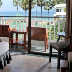 Отель Karon Princess Пхукет балкон