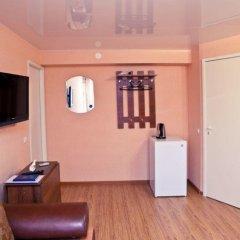 Гостиница Волгоградская Семейный полулюкс с двуспальной кроватью