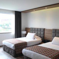 Porton Medellin Hotel 4* Номер категории Эконом с двуспальной кроватью фото 2