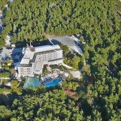 Отель Philippion Beach Салоники приотельная территория фото 2