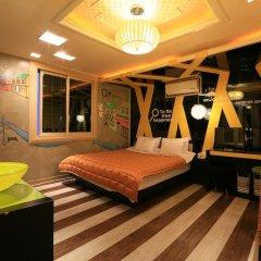 Haeundae Grimm Hotel 2* Номер Делюкс с различными типами кроватей фото 16