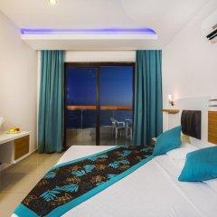 Kleopatra Ada Beach Hotel 4* Стандартный номер с различными типами кроватей фото 2