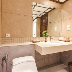 Отель Baan Laimai Beach Resort 4* Улучшенный номер двуспальная кровать фото 4