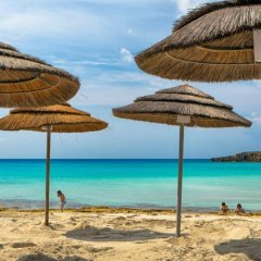 Отель Ayia Thekla Sea Front пляж фото 2