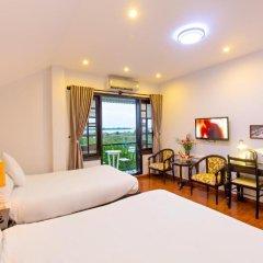 Отель Riverside Impression Homestay Villa 3* Номер Делюкс с 2 отдельными кроватями фото 5