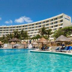 Отель Grand Park Royal Luxury Resort Cancun Caribe Мексика, Канкун - 3 отзыва об отеле, цены и фото номеров - забронировать отель Grand Park Royal Luxury Resort Cancun Caribe онлайн бассейн фото 3