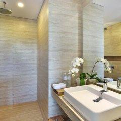 Отель Jimbaran Bay Beach Resort & Spa 4* Улучшенный номер с различными типами кроватей фото 7