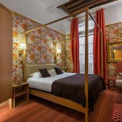 Отель Hôtel Saint Paul Rive Gauche 4* Улучшенный номер с различными типами кроватей фото 7