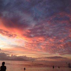 Отель Chalet de tahiti Французская Полинезия, Пунаауиа - отзывы, цены и фото номеров - забронировать отель Chalet de tahiti онлайн пляж