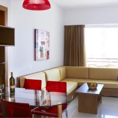 Отель Sunshine Rhodes 4* Стандартный семейный номер с различными типами кроватей фото 6