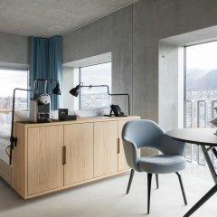 Placid Hotel Design & Lifestyle Zurich 4* Стандартный номер с различными типами кроватей фото 3