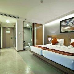 Отель Mercure Koh Samui Beach Resort 4* Улучшенный номер с различными типами кроватей фото 10