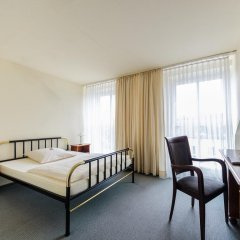 Отель An der Stadthalle 2* Стандартный номер с различными типами кроватей фото 4