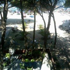 Hotel Ylberi Голем приотельная территория